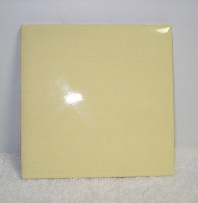 vintage tile kitchen/ bathroom/ new, unused, lemon yellow
