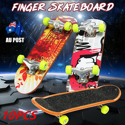10Pcs Mini Small Finger Board Skateboard Tech Deck Boy Kids Party Play Toy Gift