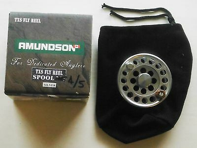 "Amundson ""TXS"" 4/5 Wt. Fly Reel Spare Spool New & Boxed"