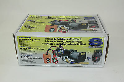 Superwinch LT2000 12V Utility Winch (2,000lb) Pink - NEW - FREE SHIPPING!