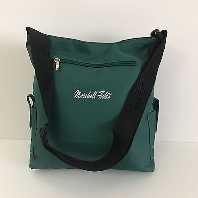 Marshall Field's Green Tote Shoulder Bag Luggage (NEW)