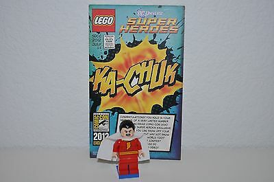 Lego Sdcc Comic Con 2012 Exclusive Shazam Minifigure Dc Marvel New With Card