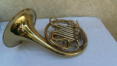 Besson Josef Lidl Double French Horn w/ Metal Linkage w/ Case and Mouthpiece
