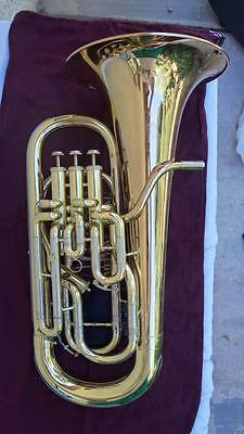 Nice Meinl Weston Melton 451 Euphonium w/ Compensating 4th Valve & Hard Case