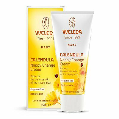Weleda Baby Calendula Nappy Cream 75ml  **FREE DELIVERY**