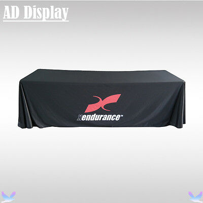 Exhibition 8ft Loose Fit Table Throw/Table Cloth/Table Cover Four Sides Printing