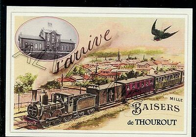 THOUROUT  / TORHOUT - train souvenir creation moderne - serie limitee numerotee