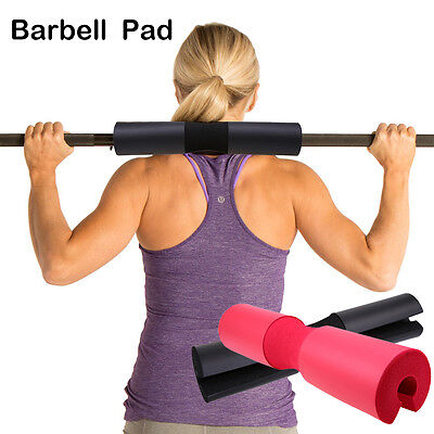 Red/Black Barbell Pad Squat Gym Fitness Neck Weight Lifting Shoulder Protection
