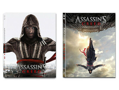 Assassin's Creed (2017, Blu-ray) Steelbook Lenticular Full Slip kimchiDVD #50
