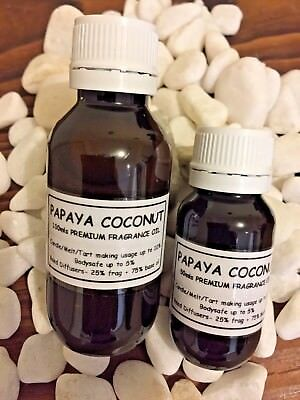 "~Premium Fragrance Oil~""papaya Coconut""~Candle/melt/tart/soap/diffuser Making~"