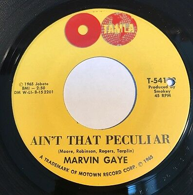 Marvin Gaye Ain't That particular Tamla 1965 Top Copy !!