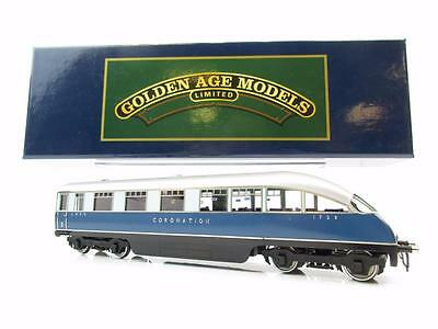 Golden Age Models Oo 2-Tone Blue Coronation Beaver Tail Observation Coach 1729