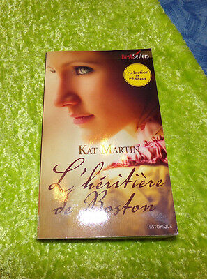 L'HERITIERE de BOSTON  de Kat Martin - Harlequin Best Sellers - TBE