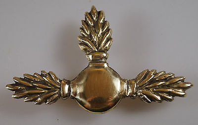 Emblem on Shako Metal Brass RUSSIAN INFANTRY 1812