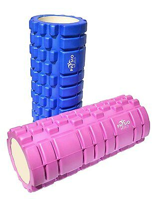 PhysioWorld EVA Grid Foam Roller 33x15cm