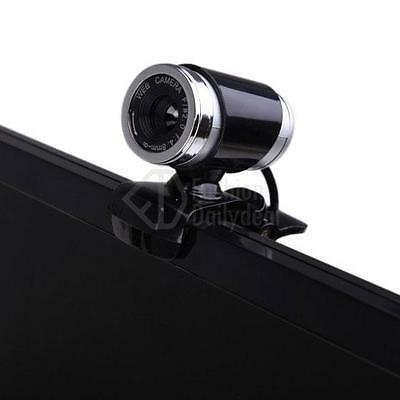 USB 2.0 12MP HD Camera Web Cam 360°Rotation with Mic Clip-on for PC Android TV