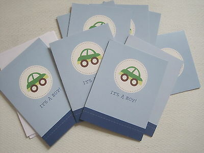 It Is A Boy Announcement Cards Baby Arrival 20 Count New