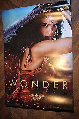 WONDER WOMAN (2017) - ADVANCE (WONDER) POSTER 27x40 DS ORIGINAL