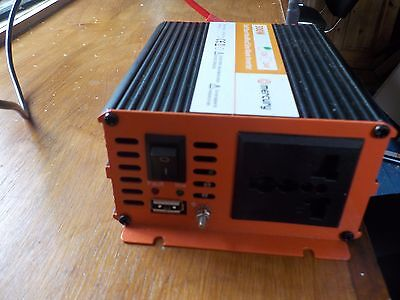 12vdc 300w Modified Sine Wave Inverter Mercury Ims300-12 652.002uk