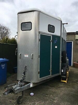 2002 Ifor Williams 510 Horse Trailer - Solid Alloy Floor