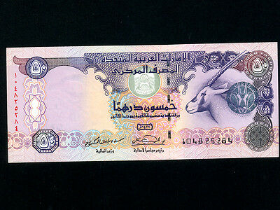 United Arab Emirates (UAE) :P-29b,50 Dirhams,2006 * Oryx * UNC *