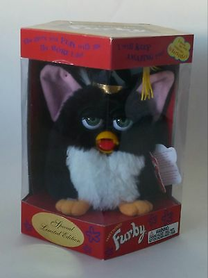 Furby Original Collector Graduation  Electronic Doll, by Tiger Electronics 1999