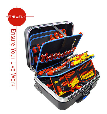 Insulated tool set In Trolley Bag /116 pcs/