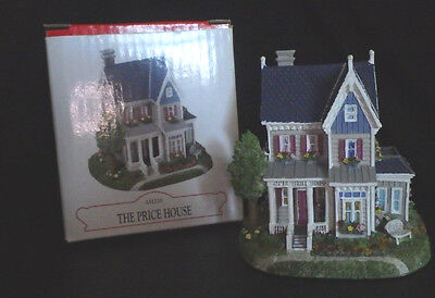 "Liberty Falls ""price House"" Western Village Christmas Snow Figurine Ah228"