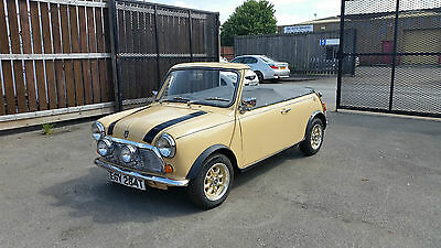 1979 Mini 1000 Convertible With New Mot