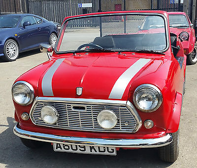 1984 Mini Open Sports New Mot New Alloy Wheels Can Deliver