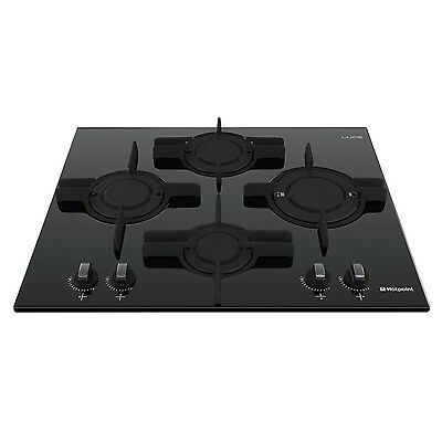 Hotpoint Luce GX641FGK Hob 4 Cooking Zones - Black