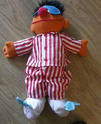 Good Condition Battery Operated Talking, Singing, Snoring Ernie/seseme Street