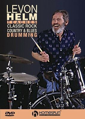 Classic Rock Country & Blues Drumming Taught by Levon Helm featuring 000641863