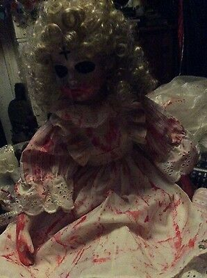horror doll Haunted Looking Doll