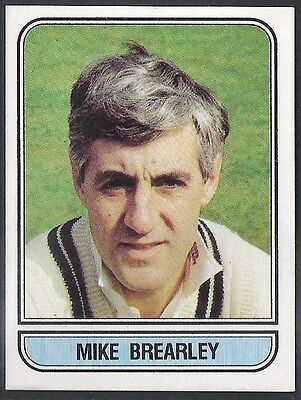 Panini-Cricket 83-#003- Middlesex - Mike Brearley