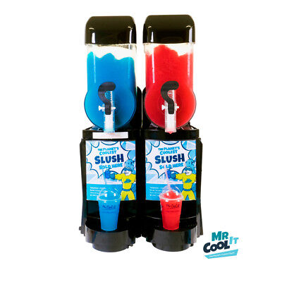 Brand New CAB Skyline 2 x 10L Slush Machine - Fast Freeze - 30 mins freeze Time