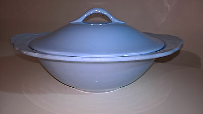 Vintage Blue Grindley Lupin Petal Lidded Tureen