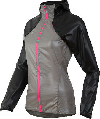 Pearl Izumi Womens Pursuit Barrier Lite Hoody Black/Monument Grey