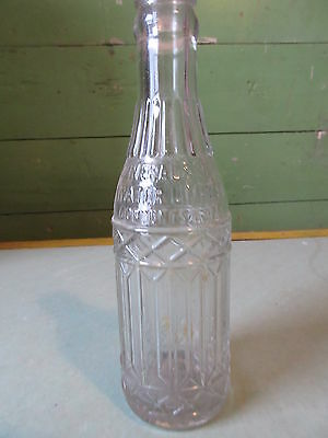 Old Vintage La Reina Mineral & Soda Water Bottle Montreal Quebec