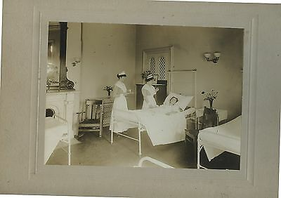 Antique Cabinet Photo Nursing School Photo Nurses Patient Boston Mass