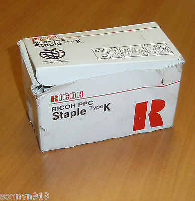 Genuine Ricoh PPC Staple Type K 410801 530R-AM Cartridge Ass'y 5,000 Staples