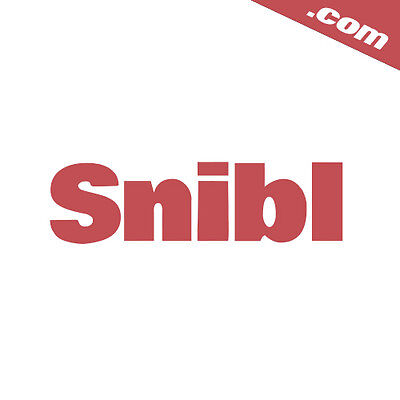 Snibl.com - Highly Brandable  5-Letter Domain Name