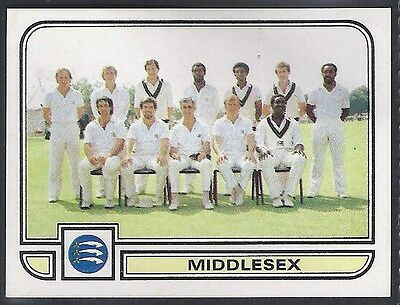 Panini-Cricket 83-#117- Middlesex