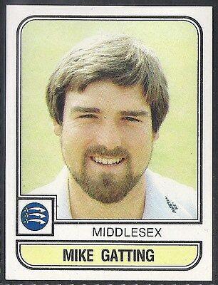 Panini-Cricket 83-#118- Middlesex - Mike Gatting