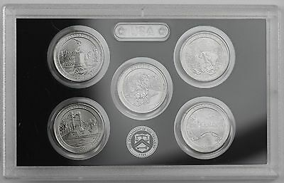 2011-P America the Beautiful Quarters 5-coin Uncirculated Set: PA,MT,WA,MS,OK