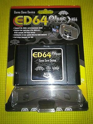 New PAL/NTSC N64 ED64plus Game Save Device N64 Enhanced Version LOWEST PRICE!!!