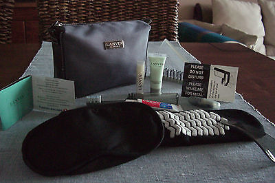 TURKISH AIRLINES Business Class LANVIN Amenity Kit Trousse Neceser Kulturbeutel