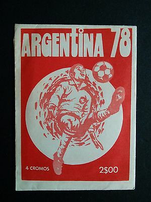 Sticker Pack Football World Cup ARGENTINA 78 sealed Eusébio bustini © Fher