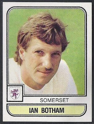 Panini-Cricket 83-#173- Somerset - Ian Botham