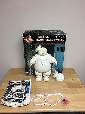 Tsukuda Ghostbusters Marshmallow Man Figure 1/90 Scale! W/ Original Box! 1984!